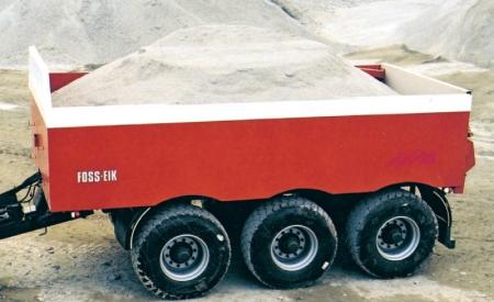 Trippelboggi 24 tonn. Last ca. 20 tonn. Kan leveres med sving på bakre og fremre aksel.